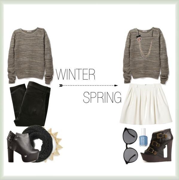 Winter to Spring Wardrobe Transitioning