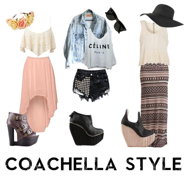 Coachella style fin
