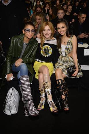 Rebecca Minkoff - Front Row - Mercedes-Benz Fashion Week Fall 2014