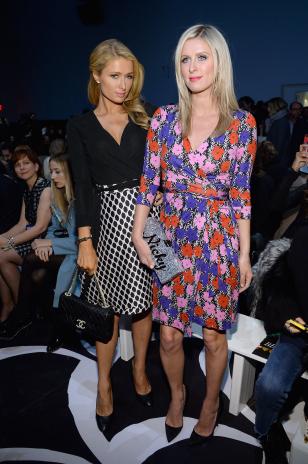 Diane Von Furstenberg - Front Row - Mercedes-Benz Fashion Week Fall 2014